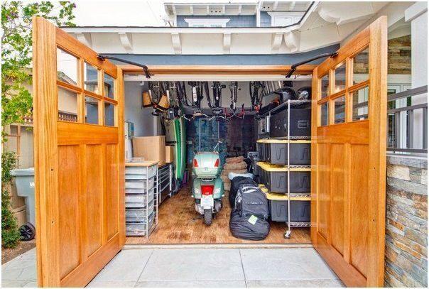 обустройство гаража фото