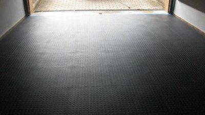 Pavimento di un garage